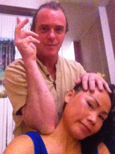 Back Shoulder Neck and Head Massage